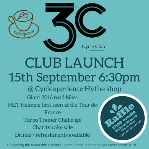 3C cycle club launch